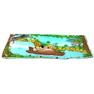 Early Smile Multicolor Cotton Cartoon Blanket-quilt139
