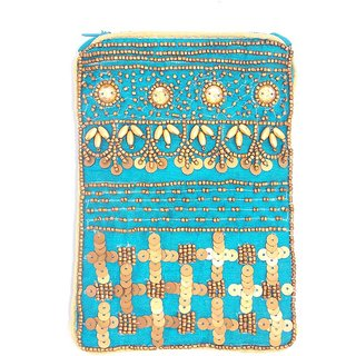 ladies embroidered mobile cover