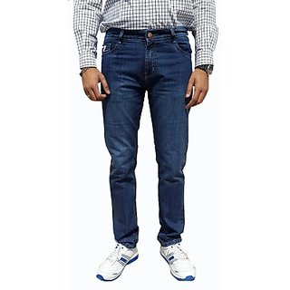 UK Blue Slim Fit Mens Jeans