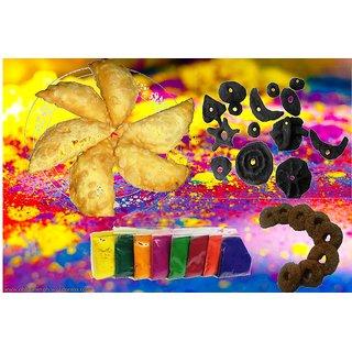 Gujiya Combo, Gujiyan  Gulariya, Traditional Holi Sweet Gujia Combo