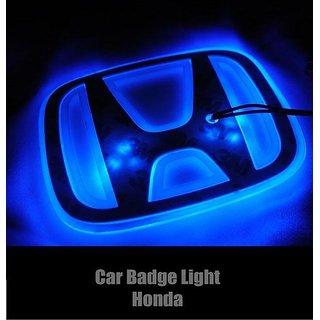 Honda Emblem Badge Logo Blue Light free shipping