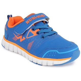 Nfive Blue Stylish Running Boys Sports Shoes