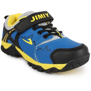 Nfive Blue Ances And Loop Comfortable And Stylish Boys Sports Shoes