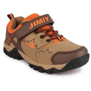 Nfive Brown Stylish Boys Sports Shoes