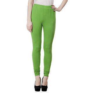Nirmal Green Cotton Legging