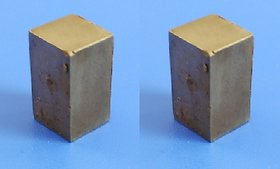 Neodymium N52 Grade Super Strong Magnet 20x10x10 mm, Type Cuboid, Set of 2