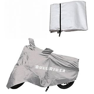 Bull Rider Two Wheeler Cover For Hero Hf Deluxe With Free Arm Sleeves