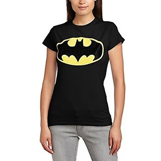 2ef2880b9af8e Buy New Batman T-Shirt for WOMEN in black color Online   ₹199 from ...
