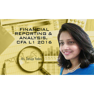 Financial Reporting And Analysis, CFA L1 2016