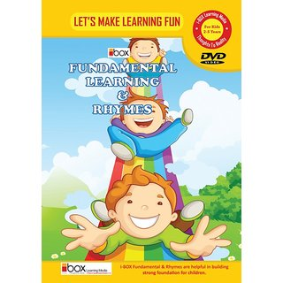 i-BOX NURSERY FUNDAMENTAL LEARNING  RHYMES ( VOLUME 1 ) DVD