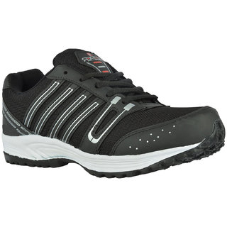 Keeper Sports Shoes Blk Silvr