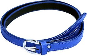 Contra Boys, Girls Blue Pin-Hole-Buckle Synthetic Belt  Belec89Ucpwzsxdr