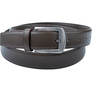Contra Men Brown Artificial Leather Belt (Brown) BELECU6S8UQMZJS7 (Synthetic leather/Rexine)