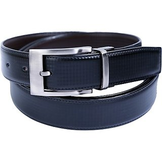 Contra Men Black Artificial Leather Belt (Black) BELECU6SBB5WR4GA (Synthetic leather/Rexine)