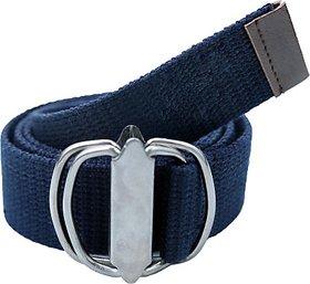 Contra Men, Boys, Girls, Women Blue Canvas Belt (Blue01) BELEDAQRXJA3P2UB