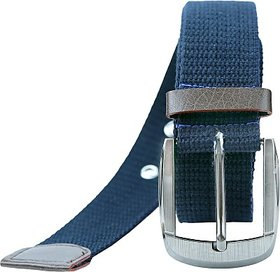 Contra Men, Boys, Girls, Women Blue Canvas Belt (Blue01) BELEDAQQDV4FETHQ