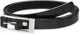 Contra Women Black Artificial Leather Belt (Black) BELECU6TTZ7USEKW
