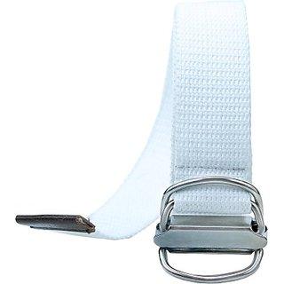 Contra Men, Boys, Girls, Women White Canvas Belt (White01) BELEDAQQ4PHRX2JB