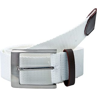 Contra Men, Boys, Women, Girls White Canvas Belt (White01) BELEDAQQMFUJBUWX