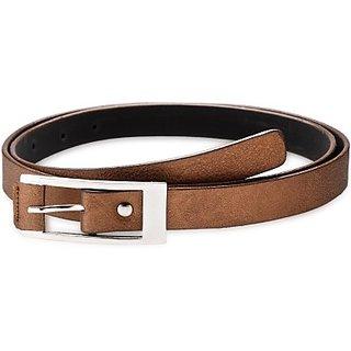 Contra Women Khaki Artificial Leather Belt (Khaki) BELECU6TTZFK5Z5D