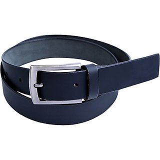 Contra Men Black Genuine Leather Belt (Black) BELECUZZGWHJXEWK (Synthetic leather/Rexine)