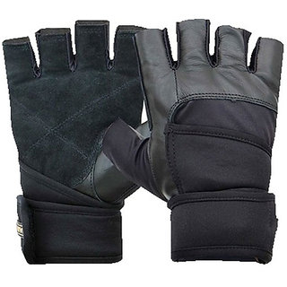 Nivia Pro Wrap Gym Gloves GG-921(Large Size)