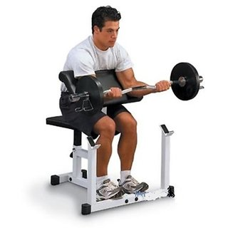 Weight Lifting Preacher  Curl Arm Curl Bench For Biceps