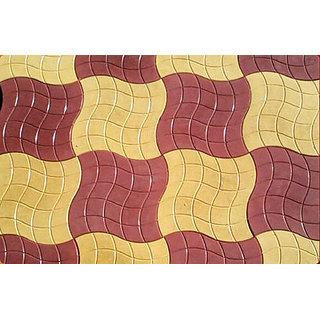 Designer Chequered Tiles Shilim Nait Brick Per Pice 150