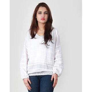 Vaak White Cotton Shirts
