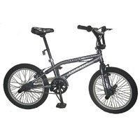 Cosmic Stunt Plus 20 Inch Bmx Bicycle Grey