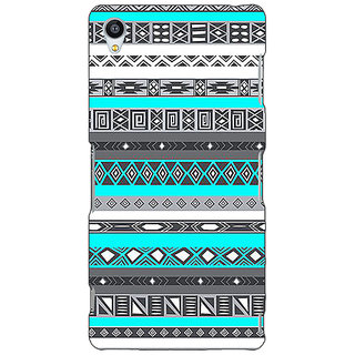 Jugaaduu Aztec Girly Tribal Back Cover Case For Sony Xperia M4 - J610058