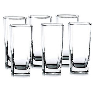 Ocean Plaza Iced Beverage Glasses - Set of 6 - 320 Ml