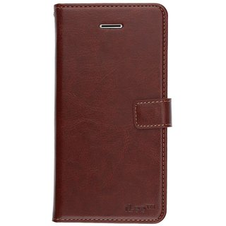 iLee Flip Cover for - Brown