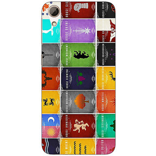 Jugaaduu Game Of Thrones GOT  Back Cover Case For HTC Desire 626S - J950116
