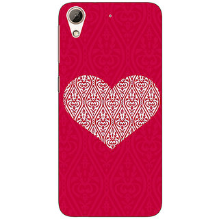 Jugaaduu Hearts Back Cover Case For HTC Desire 626S - J951425