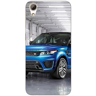 Jugaaduu Super Car Range Rover Back Cover Case For HTC Desire 728G Dual Sim - J970643