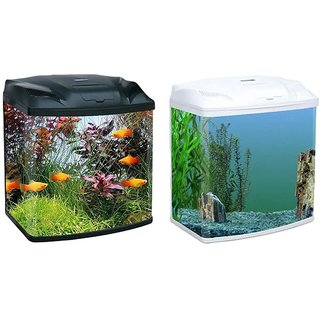 Buy R S Electrical Black Glass Fish Tank Top Cover With