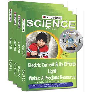 Extraminds Class VII  Combo Science  Lecture DVD
