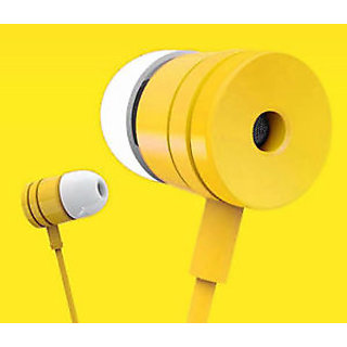 Kewin Stereo Earphone Paper Box For MIee(Color Yellow/May Very)