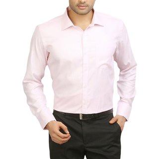 Bhavesh Creation  Mens Button Down Pink Shirt