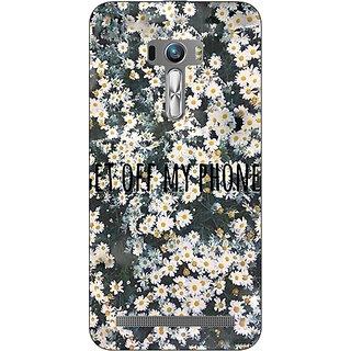 Jugaaduu Floral Pattern Back Cover Case For Asus Zenfone Selfie - J991408