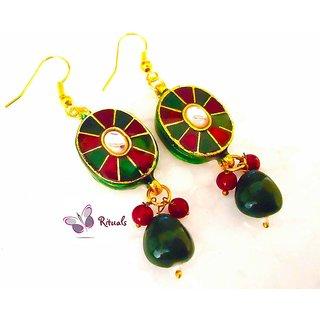 Rituals Meena Kundan Earrings