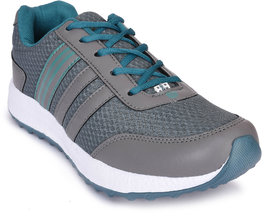 Action Men'S Grey,Green Sport Shoes