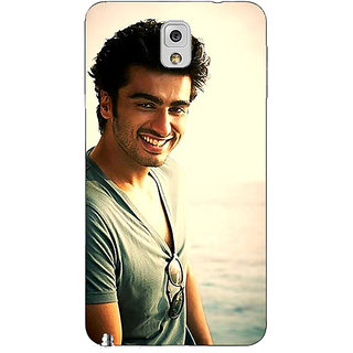 Jugaaduu Bollywood Superstar Arjun Kapoor Back Cover Case For Samsung Galaxy Note 3 N9000 - J90938