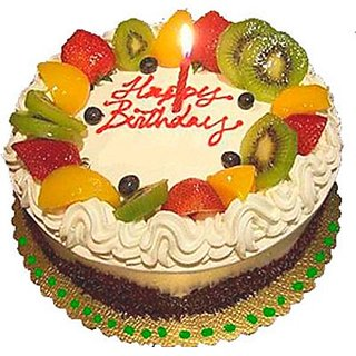 Saugaat Mix Fruit Birthday Cake