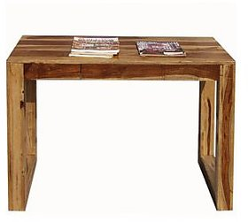 Study  Laptop Table in Natural Colour Finish by Goel
