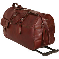 100 Genuine INDIAN Leather new Cabin Luggage Bag Travel