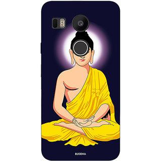 Jugaaduu Gautam Buddha Back Cover Case For LG Google Nexus 5X - J1011266