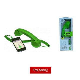 Retro Moshi Moshi Pop Phone Anti radiation Receiver For all phone tablet etc.