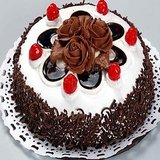 Saugaat 1 Kg Tasty Black Forest Cake